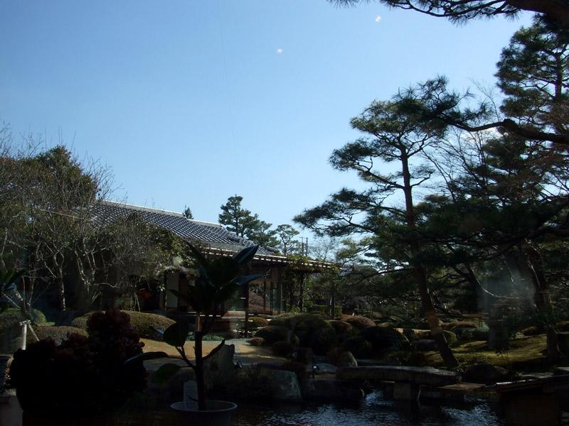 天使の里 中庭